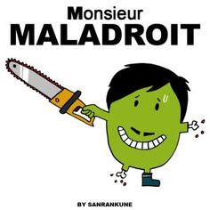Monsieur maladroit p ques mr men little miss pinterest - Monsieur maladroit ...