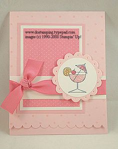 "Could also be a cute ""baby"" card, with a different stamp. :)"