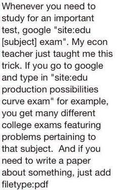 practice exams!