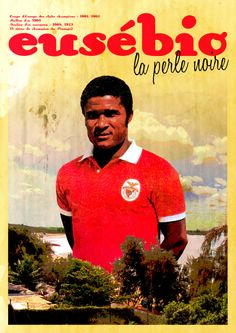 """Eusébio """"the black pearl"""" ~ one of the greatest footballers of all time."""