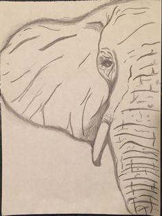 Drawing Doodles Sketches Elephant Eye Pencil sketch by CreativelyMINEbyTori on Etsy - Elephant Sketch, Elephant Eye, Elephant Face Drawing, Eye Pencil Sketch, Pencil Sketching, Nature Sketches Pencil, Animal Drawings, Pencil Drawings, Art Drawings