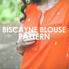 Biscayne Blouse – UpCraft Club