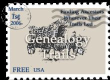 A Potpourri of Genealogical Data| Genealogy Trails| A very good mixture of all types of genealogical and useful historical information at the Genealogy Trails is worth investigating. #genealogytrails