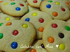 Celebra con Ana: ♥ Cookies con M´s