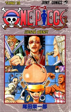 One Piece Volume 13 (Japanese Edition) by Eiichiro Oda. One Piece Manga, One Piece Comic, Manga Anime, Manga Art, Manga Covers, Comic Covers, Book Covers, One Piece Crossover, Popular Manga
