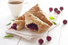Crescent Roll Cranberry Turnover Dessert