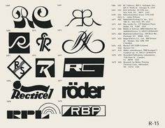 Eric Carl Collection of vintage logos from a edition of the book World of Logotypes jpg Logos Apple Logo Design, Empire Logo, Logo Luxury, Brand Symbols, Portfolio Book, Portfolio Layout, Logo Shapes, Symbol Logo, Cool Logo