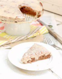 Healthy Carrot Cake (Vegan/Gluten Free/Low Calorie)