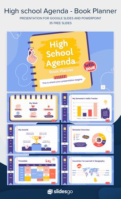 Cute Powerpoint Templates, Powerpoint Slide Designs, Powerpoint Themes, Agenda Book, Planner Book, School Agenda, Graphic Design Cv, Powerpoint Background Design, Life Hacks For School