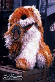 My favorite Sesame Street character ever! He's just the cutest. I had a HUGE stuffed Barkley when I was little. ❤️