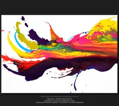 Filling with Emotion by Destiny Womack // #art #abstract