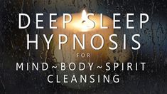 Deep Sleep Hypnosis for Mind Body Spirit Cleansing (Rain & Music for Guided Dreams Self Healing) – inner mega powers Guided Meditation For Sleep, Daily Meditation, Meditation Music, Mindfulness Meditation, Guided Relaxation, Sleep Relaxation, Mind Body Spirit, Mind Body Soul, Over Thinking Anxiety