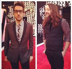 Handsome men Cole & Will in one of our faves: District Homme Wardrobe Room, The Voice, Tv Shows, Breast, Suit Jacket, Handsome, Seasons, Suits, Music