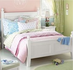 If I had a little girl, this would be her bedroom!