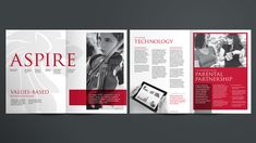 School prospectus design Cheshire & London UK