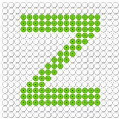 kralenplank letter z