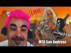 ►🎮 GTA SAN ANDREAS MTA◄ CABELO ROSA?!?!?! VALEWWW 10K -09/03 #10200