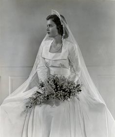 The bride is Angela Wright Combes. 1949