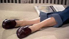 Grace Kelly's feet in Rear Window