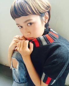 ショートヘアスタイル Hair&Make・Laji 透明感 外国人風 アッシュ