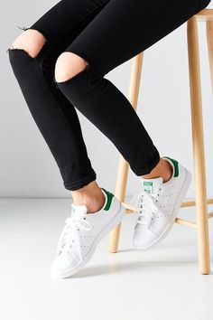 We can't get enough of these Adidas Stan Smith Sneakers on ShopStyle