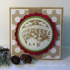 Wonderful Blessing - new single SU stamp HSS168 by gidgetmd - Cards and Paper Crafts at Splitcoaststampers