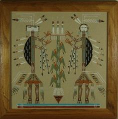 Navajo Camel God With Corn