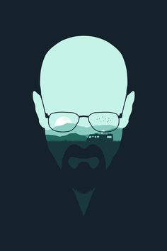 """Heisenberg"" by Filiskun ART PRINT / MINI (7"" X 10"") $18.00 ... society6.com, my…"