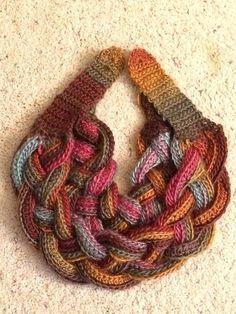 Resultado de imagem para modelos de bufandas tejidas a dos agujas