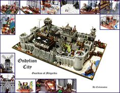 I love a good Lego castle city. I really love this Lego castle city by Ecclesiastes on Flickr.