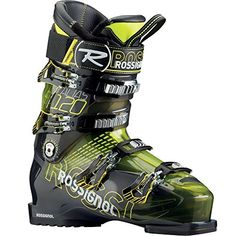Rossignol Mens Alias Sensor 120 Yellow Transparent All Mountain Ski Boot  245 -- More info could be found at the image url. This is an Amazon Affiliate links.