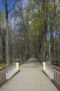 Angels bridge, Tartu, Estonia