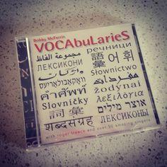 Il cd che ogni cantante.dovrebbe avere nella personale.libreria musicale. #bobbymcferrin #vocabularies #idischisicomprano #meraviglia