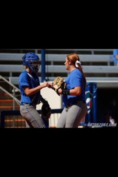 Softball is back!!!!!  The defending National Champs  My girls Delanie Gourley and Aubree Munro!!!!
