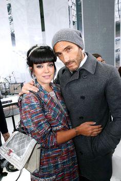 Pin for Later: 17 Choses à Savoir Sur le Bodyguard Super Sexy de Karl Lagerfeld  Et Lily Allen.