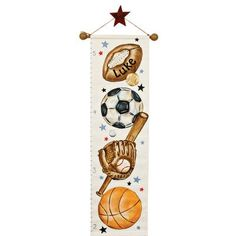 Renditions by Reesa Personalized All Sport Growth Chart