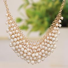 Necklace|pearl necklace
