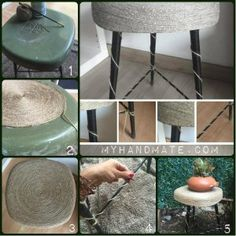 ¿Tenéis cuerda en casa? Entonces tenéis el material protagonista para elaborar estas ideas decorativas chulísimas.