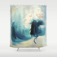 best cobalt blue shower curtain designs | cobalt blue shower