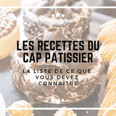 Instagram_CAPRecettes Paris Brest, French Patisserie, Sweet Bakery, Base, Baking Tips, Grocery Store, Macarons, Food Videos, Yummy Food