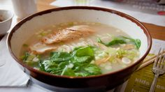 Even in a city awash in ramen joints, New Yorkers are always clamoring for more noodles: namely, the meaty stylings of Wagamama, that beloved London-born, Japan Best Ramen Noodles, Wagamama, New York Food, Soup, Nyc, Ethnic Recipes, Chain, Apple, Apple Fruit