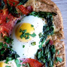 Breakfast Pizza- good in the morning and any other time of the day.