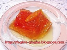 Καρπούζι γλυκό του κουταλιού Greek Sweets, Greek Desserts, Greek Recipes, Food Network Recipes, Cooking Recipes, Cypriot Food, Greek Pastries, The Kitchen Food Network, Cooking Spoon