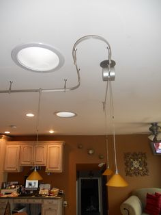 After the texture and painting i installed this flexible track after the texture and painting i installed this flexible track lighting system in the shop pinterest flexible track lighting and lights aloadofball Images