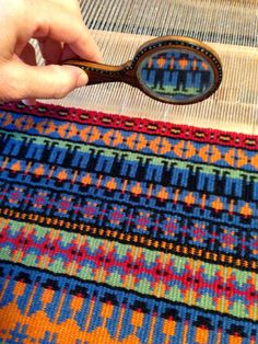 Bound Rosepath Pilgrims on Thanksgiving table mat Use of mirrors in display could bring attention to special details