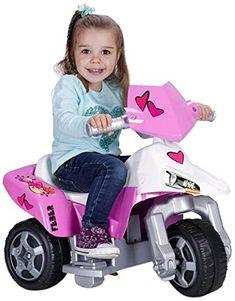 Moto Feber The Pink Tatoo 2 sweety 6v eléctrico. 1 a 3 años. 800009608, IndalChess.com Tienda de juguetes online y juegos de jardin