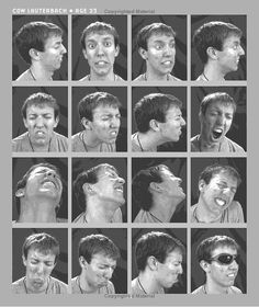 Visual images facial expressions