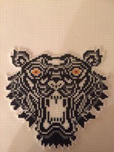 Tiger sort hvid grå i mini  Made by Sisse Nielsen