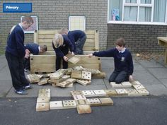 Giant Dominoes and Box from ESP