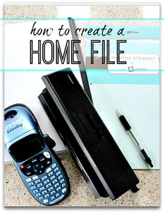 Step by step guide as to how I created my Home file, and how you can do the same.